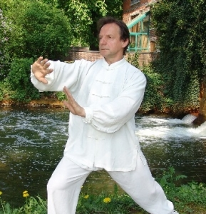 GM Walter Toch making private video Taijiquan Chen.
