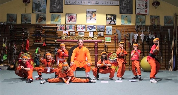 Examen KIDS shaolin Kung Fu bij GM Walter Toch