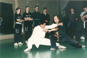 GM invited Chen Sitong 18e Generation Chen Style & Family to Ghent Belgium 1992.