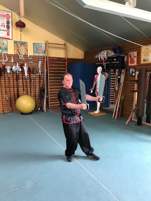 GM Walter Toch with Bat Jam Dao in his Academy.