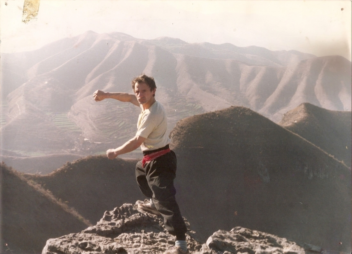 GM Walter Toch in Song Shan Shaolin Tempel China